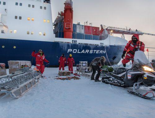 Expedition Arktis, eingefroren am Nordpol